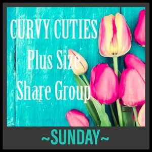 Tops - 5/26 PLUS SHARE GROUP: Curvy Cuties